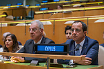 General Assembly Seventy-fourth session, 7th plenary meeting<br /> <br /> <br /> His Excellency Nicos Anastasiades, President, Republic of Cyprus