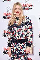 Edith Bowman<br /> arriving for the Empire Film Awards 2017 at The Roundhouse, Camden, London.<br /> <br /> <br /> &copy;Ash Knotek  D3243  19/03/2017
