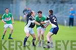 Ardfert's l-r: Niall Clifford and Darren Dineen and Killarney Legion's Tom Moloney.