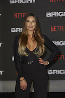 www.acepixs.com<br /> <br /> December 15 2017, London<br /> <br /> Jessica Shears arriving at the European premiere of  'Bright' on December 15, 2017 at the BFI Southbank, in London.<br /> <br /> By Line: Famous/ACE Pictures<br /> <br /> <br /> ACE Pictures Inc<br /> Tel: 6467670430<br /> Email: info@acepixs.com<br /> www.acepixs.com