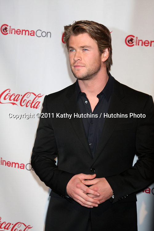 LAS VEGAS - MAR 31:  Chris Hemsworth  in the CinemaCon Convention Awards Gala Press Room at Caesar's Palace on March 31, 2010 in Las Vegas, NV.