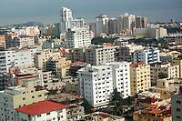 Vista Aerea de la ciudad de Santo Domingo en la zona de los cacicazgos.  <br /> Santo Domingo, Rep&uacute;blica Dominicana. 27 Octubre de 2010. Foto: &copy; Cesar De La Cruz.