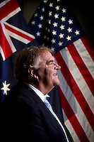 Australian Ambassador to the United States Kim Beazley pictured at the Embassy in Washington D.C.