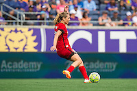 Orlando, FL - Sunday June 26, 2016: Allie Long  during a regular season National Women's Soccer League (NWSL) match between the Orlando Pride and the Portland Thorns FC at Camping World Stadium.