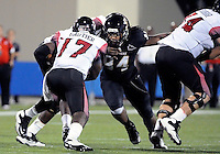 Florida International University football player defensive lineman James Jones (94) plays against the University of Louisiana-Lafayette on September 24, 2011 at Miami, Florida. Louisiana-Lafayette won the game 36-31. .