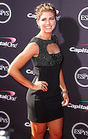 LOS ANGELES, CA - JULY 17: Alex Morgan attends the ESPY Awards 2013 held at Nokia Theatre L.A. Live on July 17, 2013 in Los Angeles, California. (Photo by Celebrity Monitor)