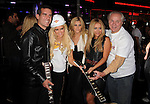 HOLLYWOOD, CA. - October 21: Eric Garcetti,Bridget Marquardt, Ashley Roberts, Aubrey O'Day, Tom LeBonge arrive at the Hard Rock Cafe - Hollywood - Grand Opening on October 21, 2010 in Hollywood, California.