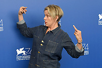 VENICE, ITALY - SEPTEMBER 4: Frances McDormand attends the photocall for Three Billboards Outside Ebbing, Missouri during the 74th Venice Film Festival on September 4, 2017 in Venice, Italy.<br /> CAP/BEL<br /> &copy;BEL/Capital Pictures
