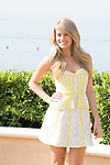 US actress Kimberly Matula poses during a photocall for the TV show 'The Bold and the Beautiful' as part of the 54th Monte-Carlo Television Festival on June 8, 2014 in Monaco.