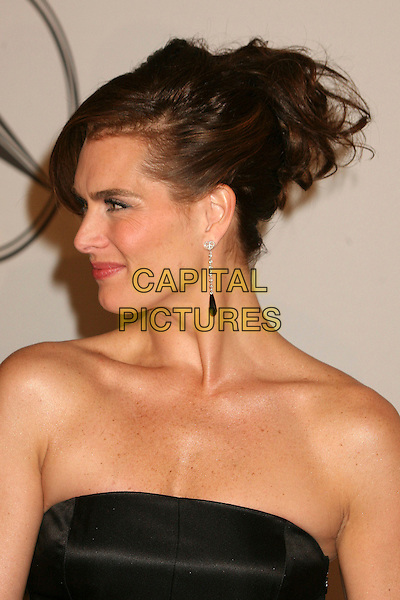 BROOKE SHIELDS.17th Annual Carousel of Hope Ball at the Beverly Hilton Hotel, Beverly Hills, California, USA..October 28th, 2006.Ref: ADM/BP.headshot portrait profile strapless earring.www.capitalpictures.com.sales@capitalpictures.com.©Byron Purvis/AdMedia/Capital Pictures.