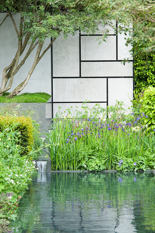The Telegraph Garden, RHS Chelsea Flower Show 2015 designed by Marcus Barnett.