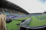 The Hague, Netherlands, May 31: Main hockey pitch at Kyocera stadium during the field hockey group match (Group A) between Australia and Malaysia on May 31, 2014 during the World Cup 2014 at Kyocera Stadium in The Hague, Netherlands. Final score 4:0 (1:0) (Photo by Dirk Markgraf / www.265-images.com) *** Local caption ***