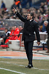 Atletico de Madrid´s coach Diego Pablo Simeone during Copa del Rey `Spanish King Cup´ soccer match at Vicente Calderon stadium in Madrid, Spain. January 28, 2015. (ALTERPHOTOS/Victor Blanco)