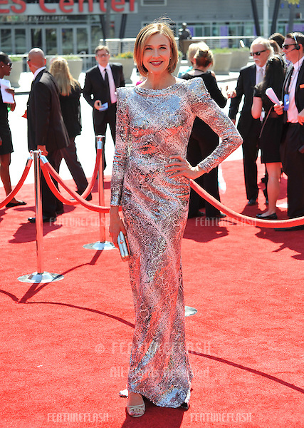 Brenda Strong at the 2012 Primetime Creative Emmy Awards at the Nokia Theatre, LA Live..September 15, 2012  Los Angeles, CA.Picture: Paul Smith / Featureflash