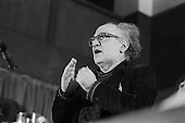 Tony Cliff, Socialist Workers Party (SWP). United Troops Out Movement Smash H Block meeting, Conway Hall