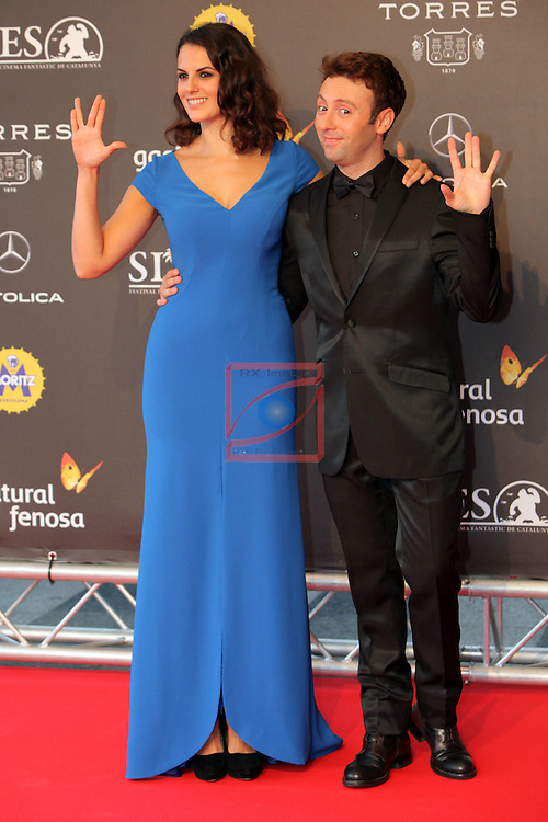 49 Festival Internacional de Cinema Fantastic de Catalunya-Sitges 2016.<br /> Red Carpet Inside.<br /> Melina Mathews &amp; Dafnis Balduz.