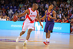 League ACB-ENDESA 2017/2018. Game: 1.<br /> FC Barcelona Lassa vs Baskonia: 87-82.<br /> Jayson Granger vs Phill Pressey.