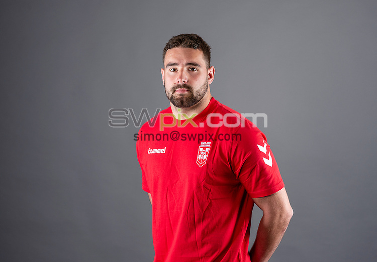 Picture by Allan McKenzie/SWpix.com - 24/04/2018 - Rugby League - RFL EPS Headshots - Village Hotels, Bury, England - Josh Bowden.