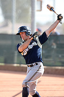 John Delaney, Milwaukee Brewers 2010 minor league spring training..Photo by:  Bill Mitchell/Four Seam Images.