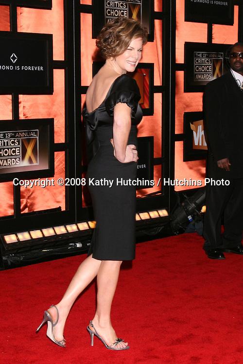 Marcia Gay Harden.2008 Television Critics Choice Awards .Santa Monica Civic Center.Santa Monica, CA.January 7, 2008.©2008 Kathy Hutchins / Hutchins Photo...