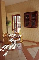 Interior of a cafe in the town of San Jose del Cabo, Baja California Sur, Mexico