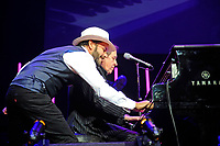 LONDON, ENGLAND - NOVEMBER 30: Christopher Holland performing with Jools Holland And His Rhythm &amp; Blues Orchestra  at Royal Albert Hall on November 30, 2018 in London, England.<br /> CAP/MAR<br /> &copy;MAR/Capital Pictures