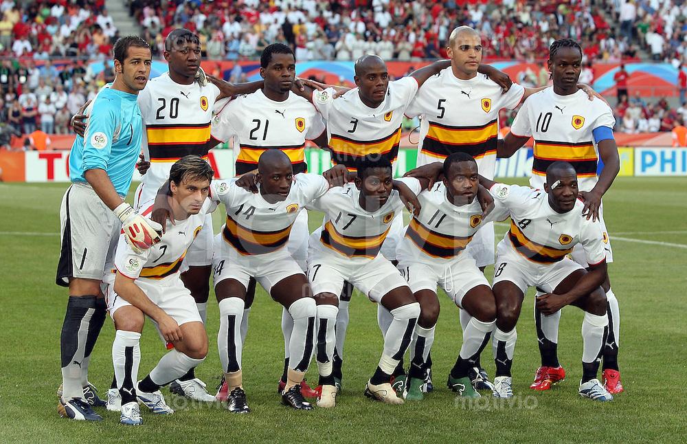 Fussball Wm 2006 Nationalmannschaft Angola Sportfotos By