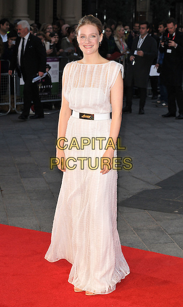 Romola Garai attends the 59th BFI London Film Festival 2015 &quot;Suffragette&quot; opening gala, Odeon Leicester Square cinema, Leicester Square, London, England, UK, on Wednesday 07 October 2015. <br /> CAP/CAN<br /> &copy;Can Nguyen/Capital Pictures