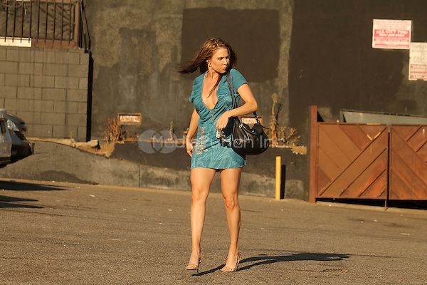 Venice Ca Aug 28: Erika Jordan of HBO suffers a wardrobe malfunction while on her way to the National Go Topless Day Parade in Venice Caliornia on August 28, 2016 Credit David Edwards / MediaPunch