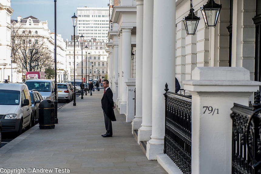 UK. London. 4th March 2013.<br /> <br /> ©Andrew Testa/Panos for Der Spiegel