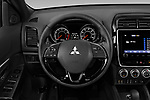 Car pictures of steering wheel view of a 2020 Mitsubishi Outlander Sport GT 5 Door SUV