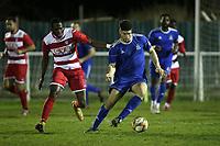 Hassan Nalbant of Redbridge during Redbridge vs Ilford, Essex Senior League Football at Oakside Stadium on 10th January 2020