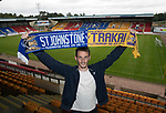 St Johnstone new signing, left back Scott Tanser who has signed a one year deal&hellip;28.06.17<br />