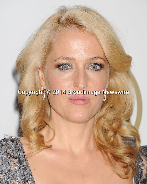 Pictured: Gillian Anderson<br /> Mandatory Credit &copy; Joseph Gotfriedy/Broadimage<br /> 25th Annual Producers Guild Awards<br /> <br /> 1/19/14, Beverly Hills, California, United States of America<br /> <br /> Broadimage Newswire<br /> Los Angeles 1+  (310) 301-1027<br /> New York      1+  (646) 827-9134<br /> sales@broadimage.com<br /> http://www.broadimage.com