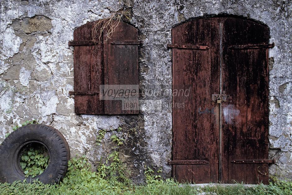 France/DOM/Martinique/Distillerie du Simon: Détail des bâtiments