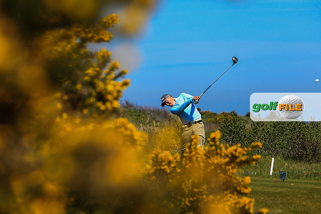 Kevin Le Blanc (The Island) on the 17th tee during Round 4 of the Flogas Irish Amateur Open Championship at Royal Dublin on Sunday 8th May 2016.<br /> Picture:  Thos Caffrey / www.golffile.ie