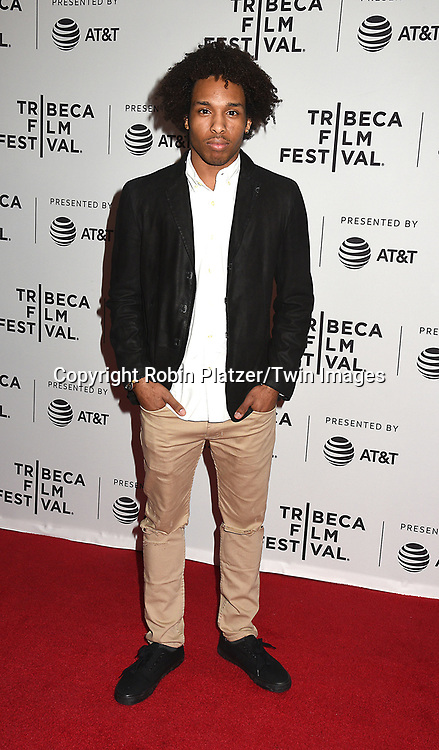 Al-Jaleel Knox attends the Dog Years&quot; screening at the Tribeca Film Festival on April 22, 2017 at Cinepolis Chelsea in New York, New York, USA.<br /> <br /> photo by Robin Platzer/Twin Images<br />  <br /> phone number 212-935-0770