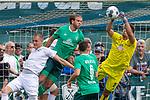 07.07.2019, Parkstadion, Zell am Ziller, AUT, PSP SV WERDER BREMEN vs WSG SWAROVSKI TIROL<br /> <br /> im Bild / picture shows <br /> <br /> Stefanos Kapino (Werder Bremen #27)<br /> Niclas Füllkrug / Fuellkrug (Neuzugang Werder Bremen #11)<br /> Kevin Möhwald / Moehwald (Werder Bremen #06)<br /> <br /> <br /> Foto © nordphoto / Kokenge