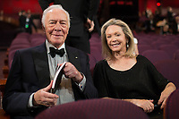 Oscar&reg; nominee Christopher Plummer with Elaine Taylor at The 90th Oscars&reg; at the Dolby&reg; Theatre in Hollywood, CA on Sunday, March 4, 2018.<br /> *Editorial Use Only*<br /> CAP/PLF/AMPAS<br /> Supplied by Capital Pictures