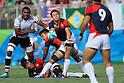 Kenki Fukuoka (JPN), <br /> AUGUST 11, 2016 - / Rugby Sevens : <br /> Men's Semi-final <br /> between Fiji 20-5 Japan <br /> at Deodoro Stadium <br /> during the Rio 2016 Olympic Games in Rio de Janeiro, Brazil. <br /> (Photo by YUTAKA/AFLO SPORT)