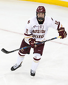 Mike Booth (BC - 12) - The Boston College Eagles defeated the visiting Colorado College Tigers 4-1 on Friday, October 21, 2016, at Kelley Rink in Conte Forum in Chestnut Hill, Massachusetts.The Boston College Eagles defeated the visiting Colorado College Tiger 4-1 on Friday, October 21, 2016, at Kelley Rink in Conte Forum in Chestnut Hill, Massachusett.