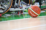 Match ball/General view, <br /> SEPTEMBER 8, 2016 - Wheelchair Basketball : <br /> Preliminary Round Group A<br /> match between Turkey 65-49 Japan<br /> at Carioca Arena 1<br /> during the Rio 2016 Paralympic Games in Rio de Janeiro, Brazil.<br /> (Photo by AFLO SPORT)