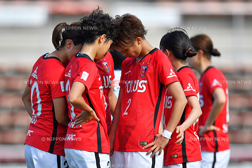 ヲ ャ シケ/Urawa Reds Ladies Team Group, <br /> JUNE 17, 2017 - Football / Soccer : <br /> Plenus Nadeshiko League Cup 2017 Division 1 <br /> match between Urawa Reds Ladies 0-0 Vegalta Sendai Ladies <br /> at Saitama Urawa Komaba Stadium in Saitama, Japan. <br /> (Photo by MATSUO.K/AFLO SPORT)