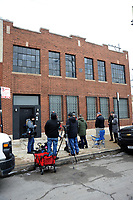 CHICAGO, ILLINOIS - JANUARY 16, 2019: City officials inspect R. Kelly's studio at 219. Justine St. in Chicago, Illinois for violations on January 16,2019. Credit: Gene Ambo/ MediaPunch