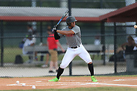Justin Tejeda (41) of Central Pointe Christian High School in Kissimmee, Florida during the Under Armour Baseball Factory National Showcase, Florida, presented by Baseball Factory on June 12, 2018 the Joe DiMaggio Sports Complex in Clearwater, Florida.  (Nathan Ray/Four Seam Images)