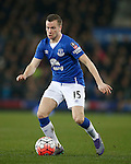 Tom Cleverley of Everton during the Emirates FA Cup match at Goodison Park. Photo credit should read: Philip Oldham/Sportimage