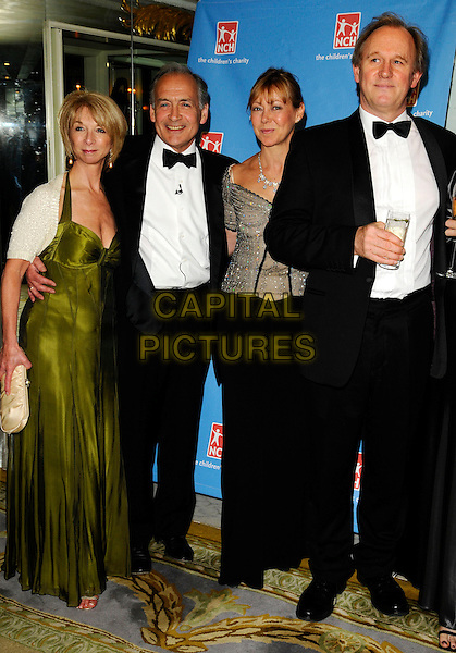 HELEN WORTH, ALISTAIR STEWART, JENNY AGUTTER, PETER DAVISON .Attends the NCH Summer Ball, The Dorchester Hotel, London, England, June 13th 2008..arrivals full length black bow tie tuxedo green dress long .CAP/CAN.©Can Nguyen/Capital Pictures
