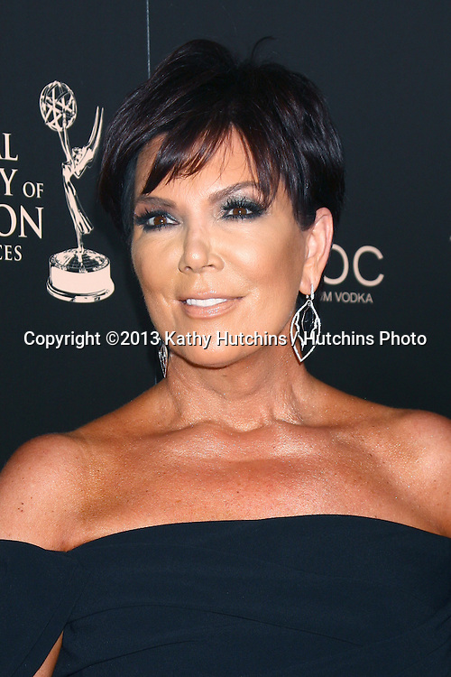 LOS ANGELES - JUN 16:  Kris Jenner arrives at the 40th Daytime Emmy Awards at the Skirball Cultural Center on June 16, 2013 in Los Angeles, CA