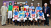group of  amateur riders before The Gentleman International Fegentri Race at Delaware Park on 9/3/11