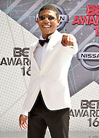 LOS ANGELES, CA - JUNE 26: Bryshere Grey at the 2016 BET Awards at the Microsoft Theater on June 26, 2016 in Los Angeles, California. Credit: Koi Sojer/MediaPunch